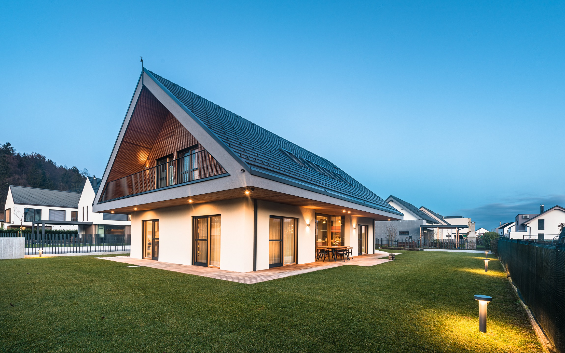 Trajnostna gradnja hiš Lumar